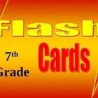 7th Grade Math Common Core Flash Card Set