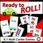 Common Core Math Games for K/1: Ready to Roll!