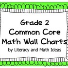 Common Core Math Grade 2 Wall Charts