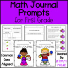 Common Core Math Journal for First Grade {number of the da