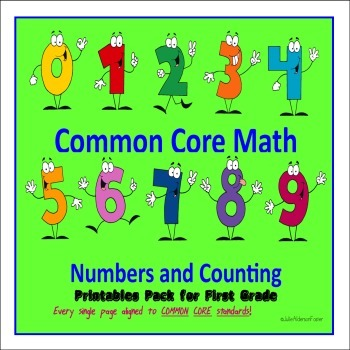 Common Core Math Numbers and Counting