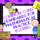 Common Core Math Posters: Standards for Mathematical Pract