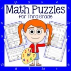 Common Core Math Puzzles - 3rd Grade