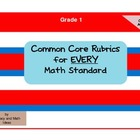 Common Core Math Rubrics:  Grade 1