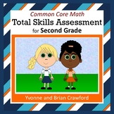Common Core Math Skills Assessment (2nd Grade)