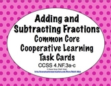 Common Core Math Task Cards - Adding and Subtracting Fract