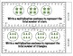 Common Core Math Task Cards Multiplication (Equal Groups)