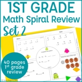 Common Core Math Warm Up/Morning Work- 1st Grade- Set 2