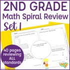 Common Core Math Warm Up/Morning Work- 2nd Grade