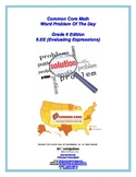 Common Core Math Word Problems Collection (Grade 6.EE - Ev