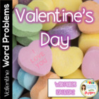 Common Core Math Word Problems for Valentine's Day