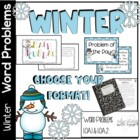 Common Core Math Word Problems for Winter