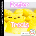 Common Core Math Word Problems with Easter Treats!