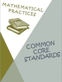 Common Core Mathematical Practices Posters, Rubrics, Scori