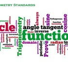 Common Core Mathematics HS Trigonometry Poster White Background