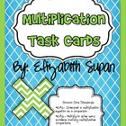 Common Core Multiplication Task Cards