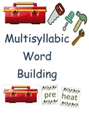 Common Core Multisyllable Word Building with Prefixes, Suf