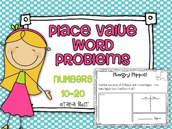 Common Core Place Value Word Problems {Numbers 10-20}