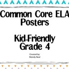 Common Core Posters - 4th Grade Language Arts