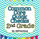 Common Core Quick Checks - 2nd Grade