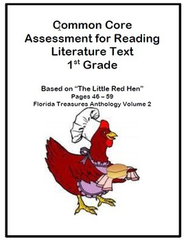 Common Core Reading Assessments for 1st Grade - From the F