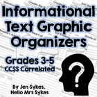 Common Core Reading: Comprehension Strategy Sheets Informa