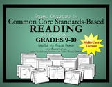 Common Core Reading Graphic Organizers Grades 9-10 Multi-U