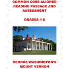 Common Core Informational Passage and Assessment: Grade 4-6