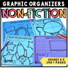 Graphic Organizers for Common Core Informational Texts Grades 3-5