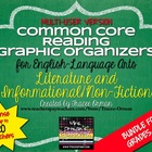 Common Core Reading Lit & Non-Fiction Graphic Organizers M