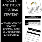 Common Core Reading Strategy Cause and Effect Activities a
