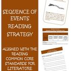 Common Core Reading Strategy Sequence of Events Activities