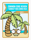 """Common Core Review """"Connect""""ions Combo Pack:  Grade 3"""
