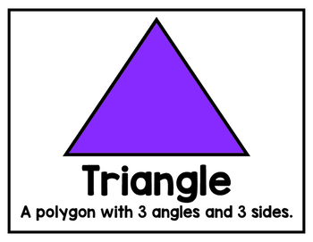 Common Core Second Grade Geometric Shapes Signs