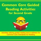 Common Core Second Grade Guided Reading Activities