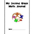 Common Core Second Grade Math Journal Printables