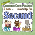Common Core Second Grade Posters for Arizona (I can . . .)