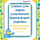 Reading comprehension graphic organizers,prompts,and passa