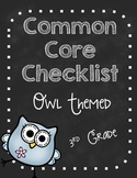 Common Core Standards Checklists K-6 BUNDLE