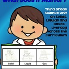 Common Core Standards English/Science Third Grade Unit on