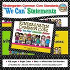 Common Core Standards Posters For Kindergarten - Sassy Bla
