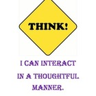 "Common Core Standards ""THINK"" poster for your classroom."