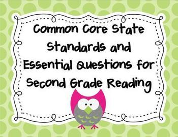 Common Core Standards and Essential Questions for 2nd Grad