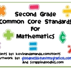 Common Core Standards for Second Grade Mathematics