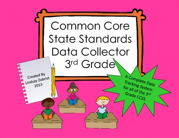 Common Core State Standards Data Tracking System 3rd Grade