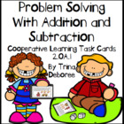 Common Core Task Cards 2.OA.1 (Math Problem Solving)