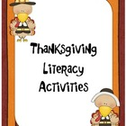 Common Core Thanksgiving Literacy Unit - Second Grade