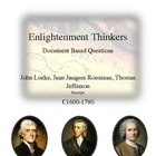 Common Core: The Great Thinkers of the Enlightenment DBQs