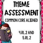 Common Core Theme Assessment *Themes in Literature Test* w
