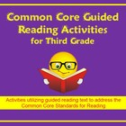 Common Core Third Grade Guided Reading Activities